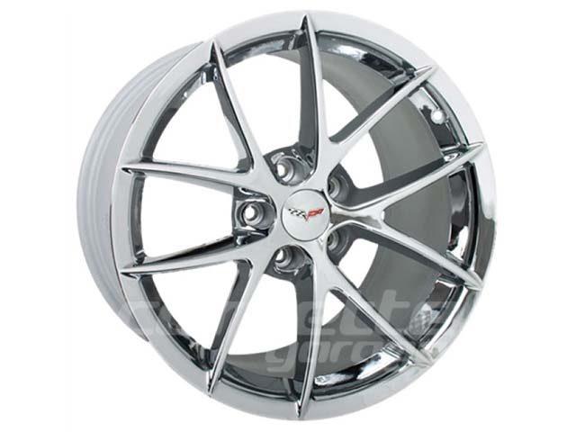 Z06 Spyder Wheels for 1997-2004 C5 and Z06 Corvette - Chrome