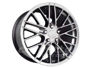 ZR1 R1 Wheel Set for 2005-2013 C6 Corvette - Chrome