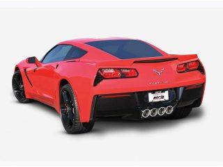 C7 Corvette Borla Exhaust - Installed