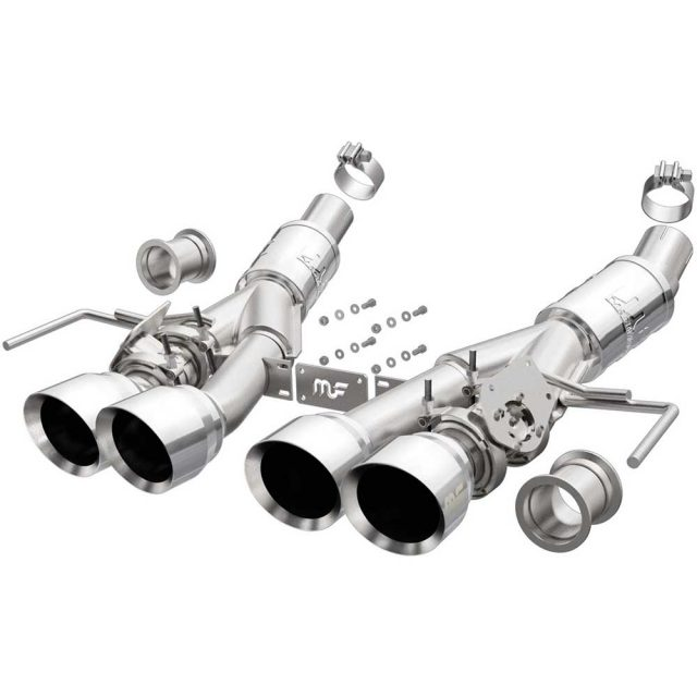 Magnaflow C7 Corvette Competition Exhaust - Polished Tips - 19379