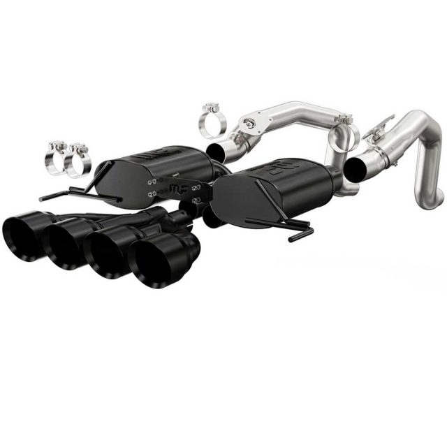 Magnaflow C7 Corvette Street Exhaust - Black Tips - 15316