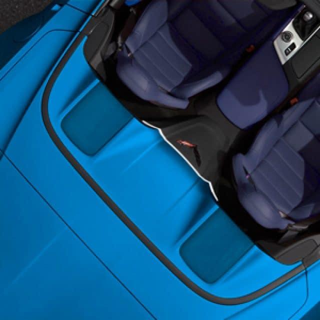 C7 Corvette Tonneau Lid Trim Insert in Blue My Mind - 23186973