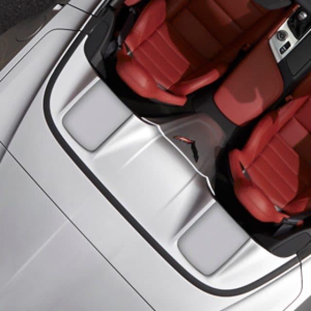 C7 Corvette Tonneau Lid Trim Insert in Switch Blade Silver - 23186974