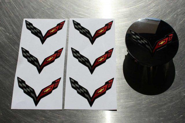 C7 Corvette Decal Set