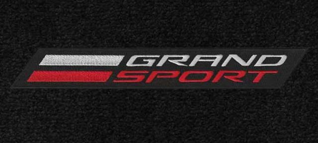 C7 Grand Sport Corvette Lloyds Mats - Logo Closeup
