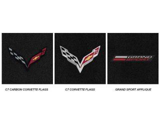 C7 Grand Sport Corvette Lloyds Mats - Logo Chart