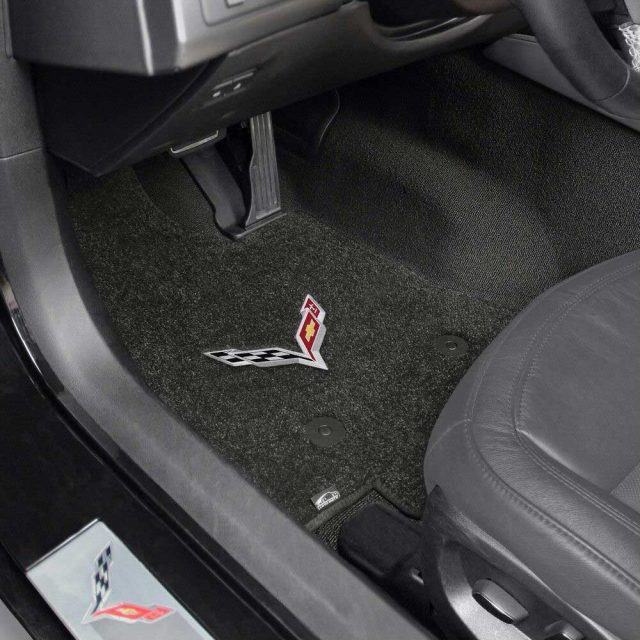 C7 Stingray Corvette Lloyds Mats - Installed Front