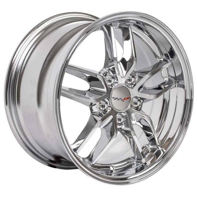 C7 Reproduction Wheels for 1997-2004 C5 Corvette - Chrome