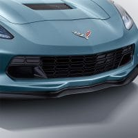 C7 Corvette Z06 Grill - Installed View - 84115258