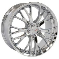 C7 Z06 Reproduction Wheels for 1997-2004 C5 Corvette - Chrome