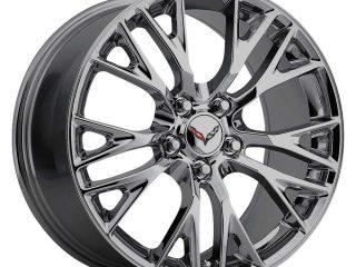 C7 Z06 Corvette Reproduction Wheel - PVD Black