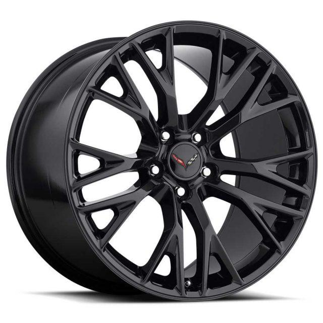 C7 Z06 Corvette Reproduction Wheel - Gloss Black