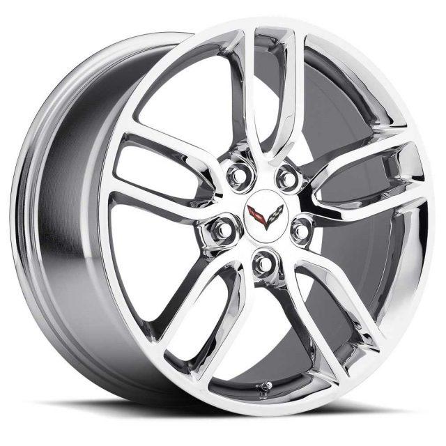 C7 Z51 Corvette Reproduction Wheel - Chrome