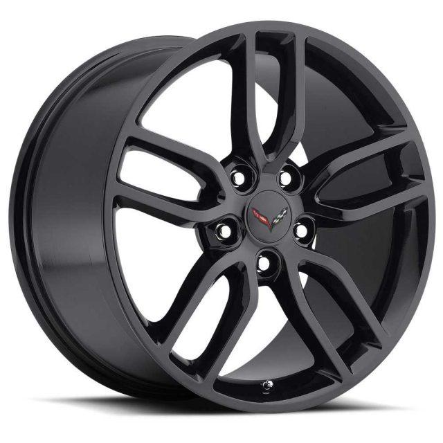 C7 Z51 Corvette Reproduction Wheel - Gloss Black