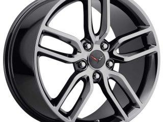 C7 Z51 Corvette Reproduction Wheel - PVD Black
