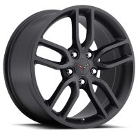 C7 Z51 Corvette Reproduction Wheel - Satin Black