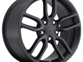 C7 Z51 Corvette Reproduction Wheel - Satin Black
