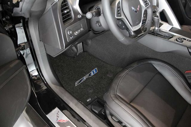 C7 ZR1 Corvette Lloyds Mats - Installed Front
