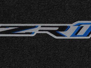 C7 ZR1 Corvette Lloyds Mats - Logo Closeup