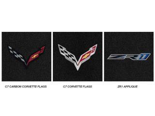 C7 ZR1 Corvette Lloyds Mats - Logo Chart