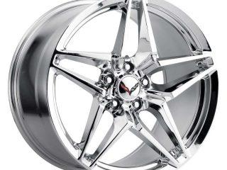 C7 ZR1 Corvette Reproduction Wheel - Chrome