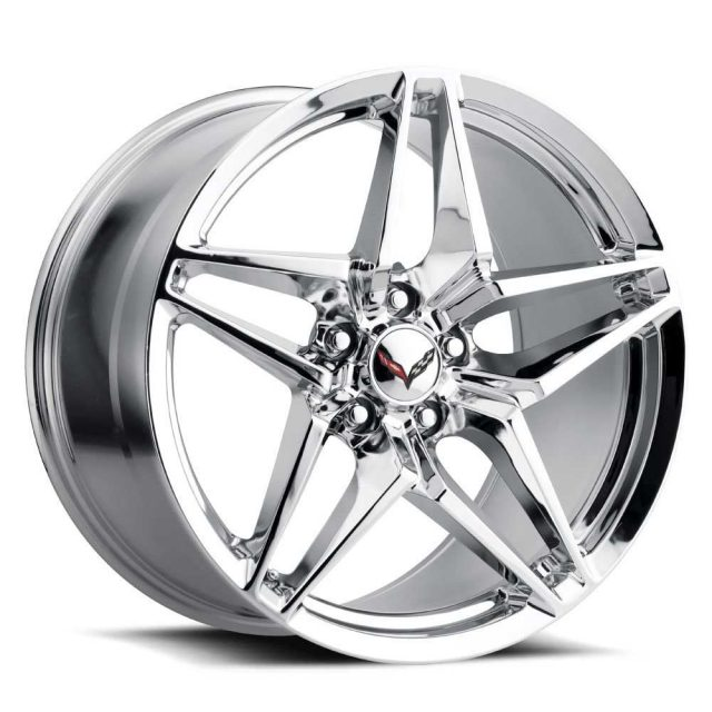 C7 ZR1 Corvette Reproduction Wheel - Chrome