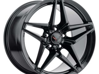 C7 ZR1 Corvette Reproduction Wheel - Gloss Black