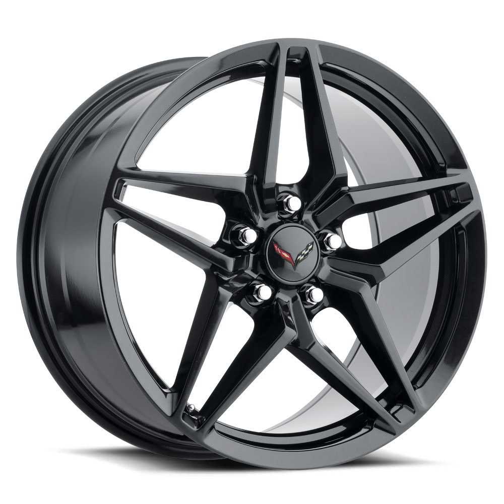 C7 ZR1 Corvette Reproduction Wheel - PVD Black