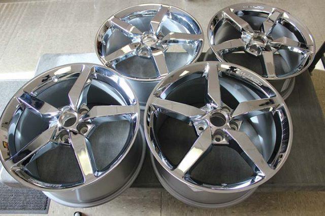 GM C7 2014 Corvette Stingray Wheels Set of Four