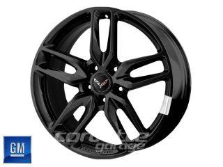 GM C7 2014 Z51 Corvette Stingray Wheels - Gloss Black