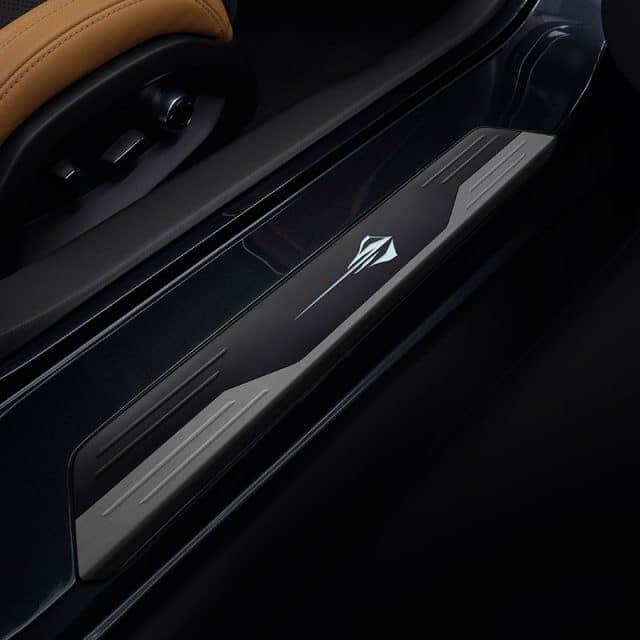 GM illuminated door sill plates for the C8 Corvette