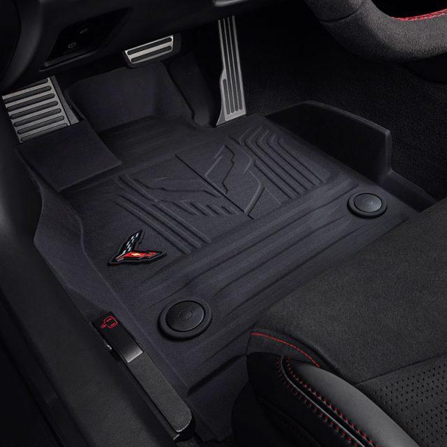 GM front Black Corvette Jake Floor Liners
