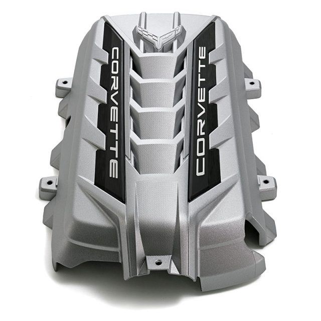 GM C8 Corvette Engine Cover available in Silver