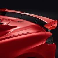 C8 Corvette Rear Spoiler - Torch Red - 84857293
