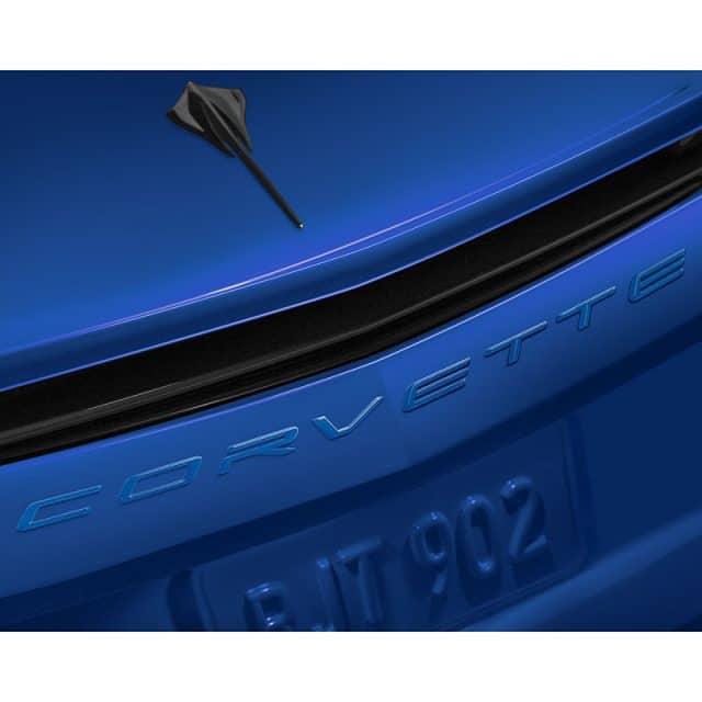 C8 Corvette Rear Emblem - Corvette Script - 84313985