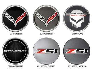GM C7 2014 Corvette Stingray Center Caps