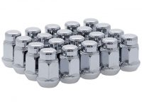 Chrome lug nuts for all C5, C6 and C7 model Corvettes