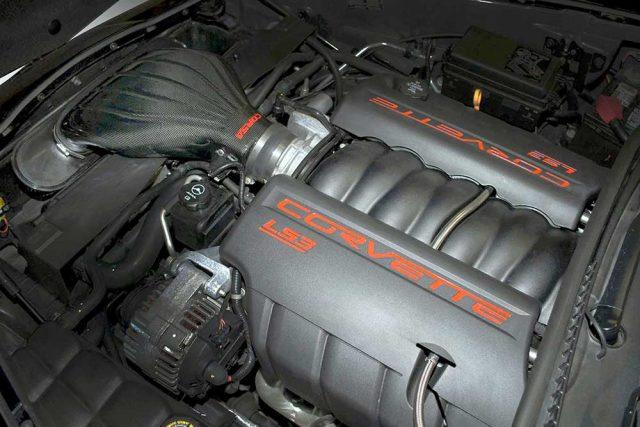 Corsa C6 Corvette Air Intake 44108 - Installed