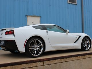 Chrome Z51 Corvette Wheel Michelin AS3 Tire Package-1470