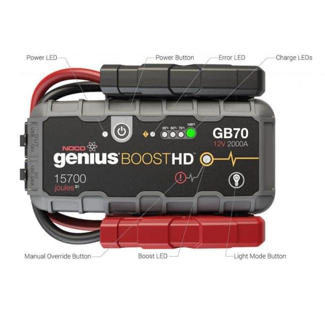 Genius GB70 Battery Jump Starter - 19366934