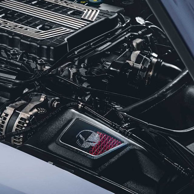 GM C7 Corvette Cold Air Intake - 84689752 - Installed View