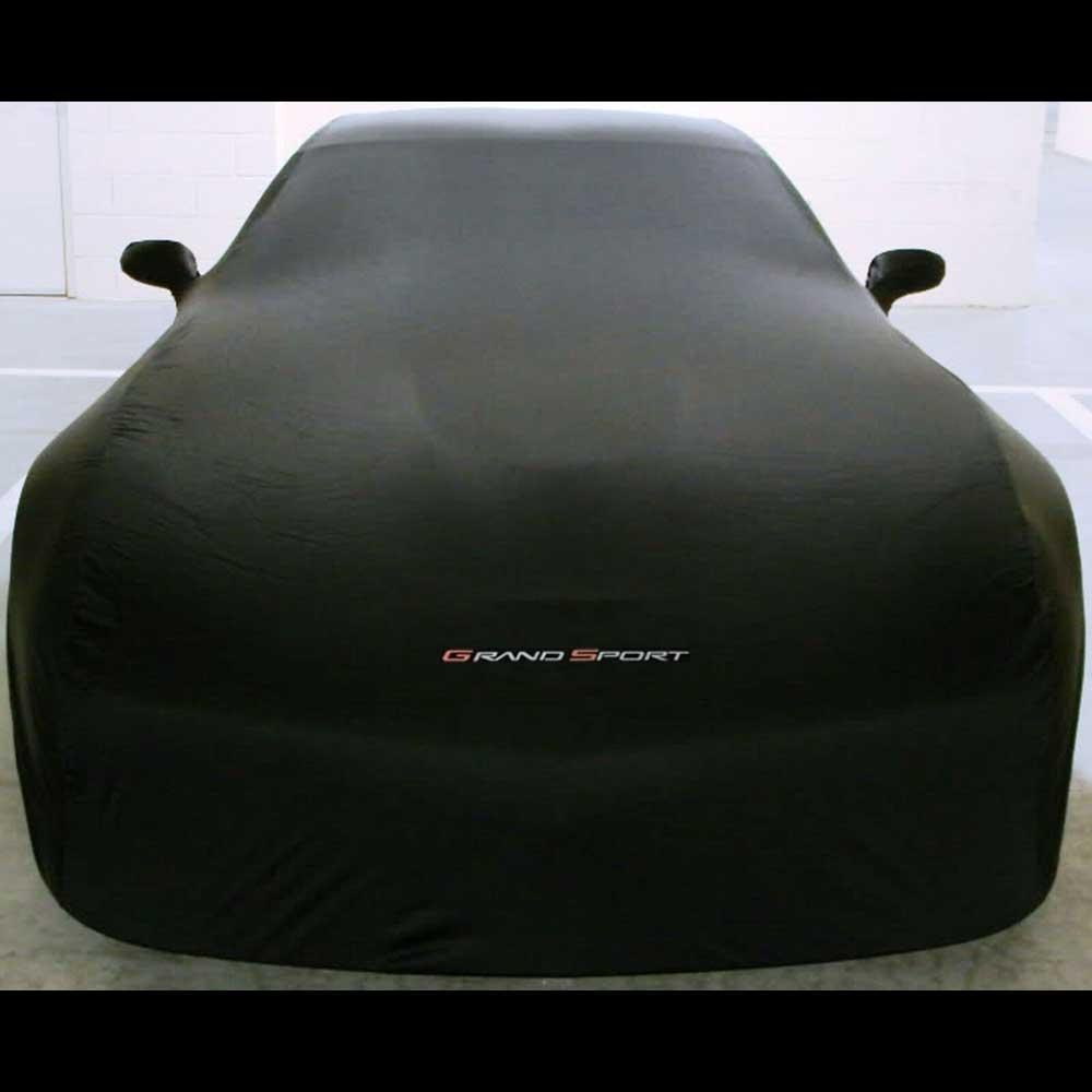 GM C6 Grand Sport Corvette indoor car cover in Black - 19243660