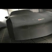 GM C6 Z06 indoor car cover in Black - 19158373