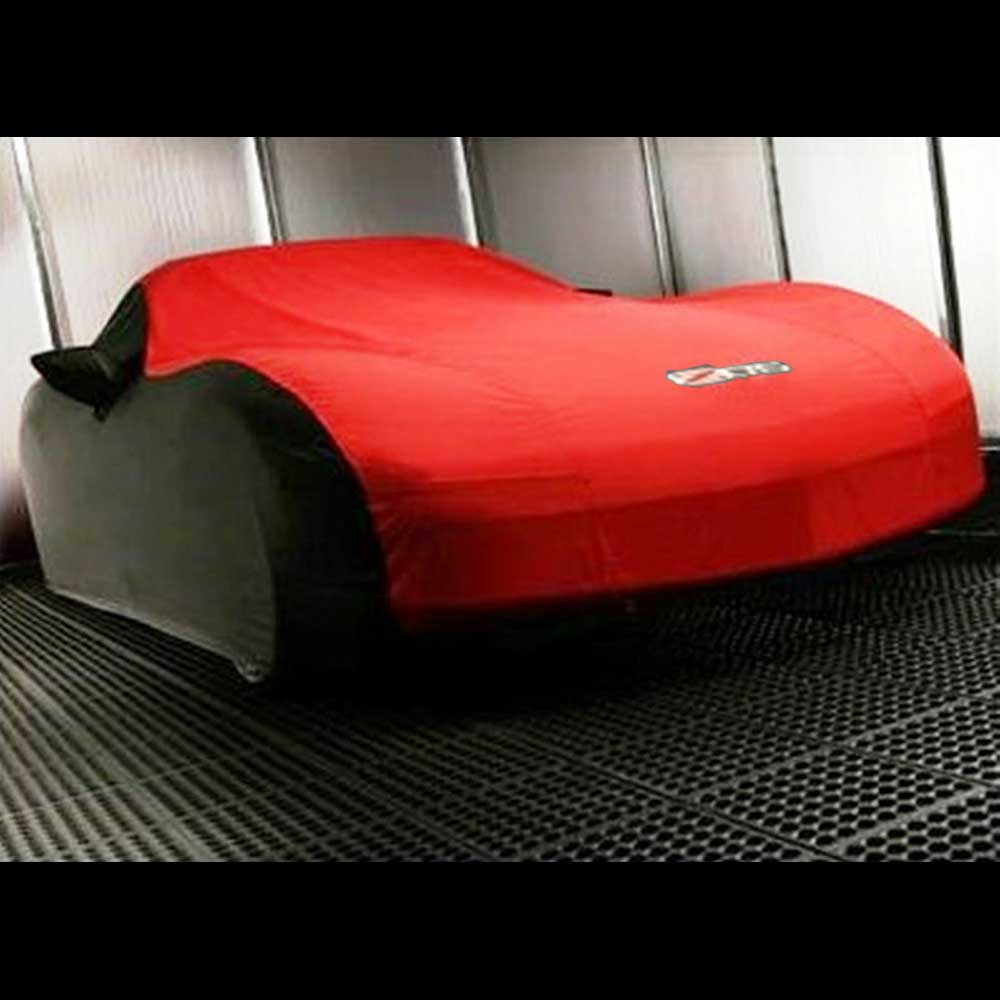 GM C6 Z06 outdoor car cover in Red - 19158378