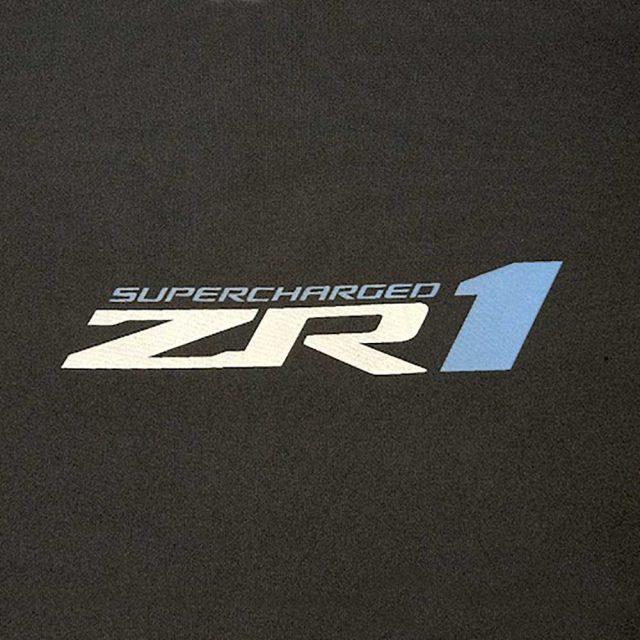 GM C6 ZR1 Corvette indoor car cover logo - 19243661
