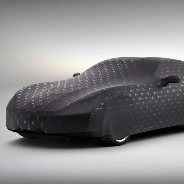GM C7 Corvette indoor car cover in Black - 23142883
