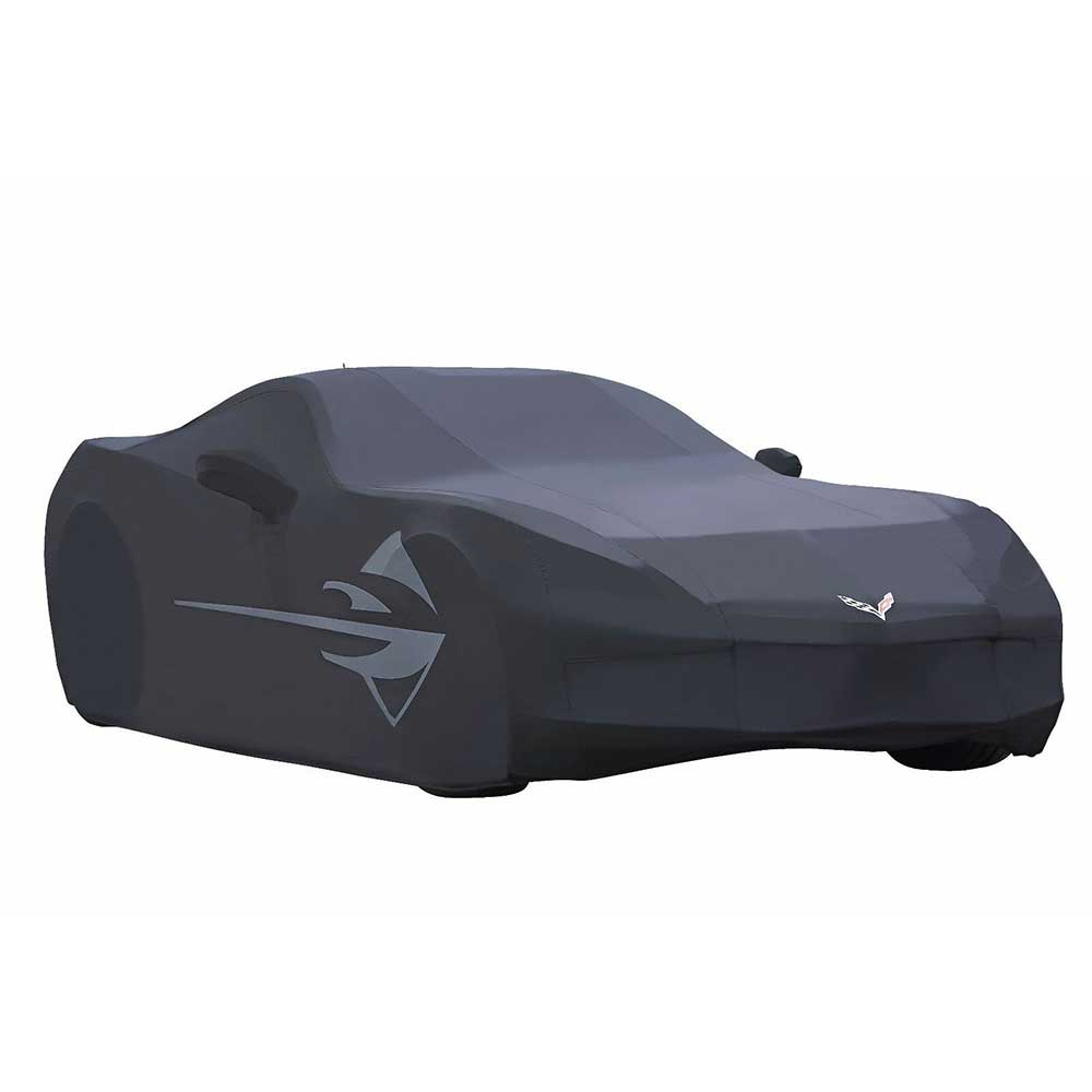 GM C7 Corvette outdoor car cover in Black - 23142884