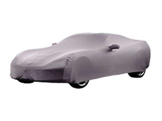 GM C7 Corvette indoor car cover in Gray - 23142881