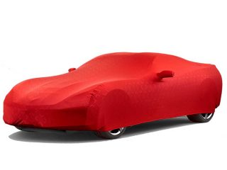 GM C7 Corvette indoor car cover in Red - 23142882