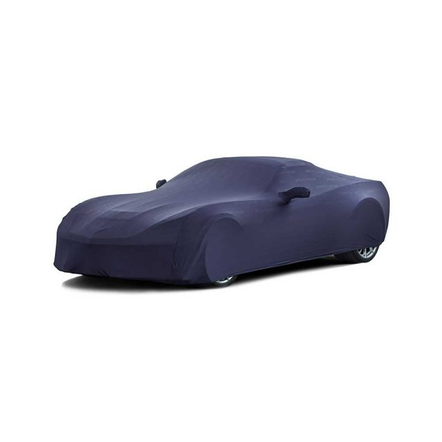 GM C7 Z06 Corvette indoor car cover in Blue - 23249342